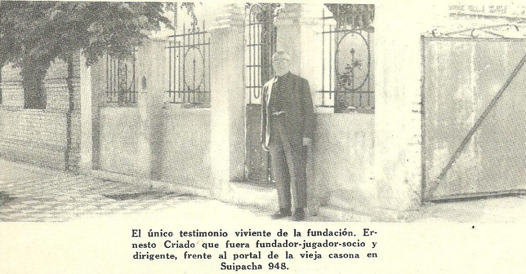01 – Ernesto Criado en la casona de la fundación