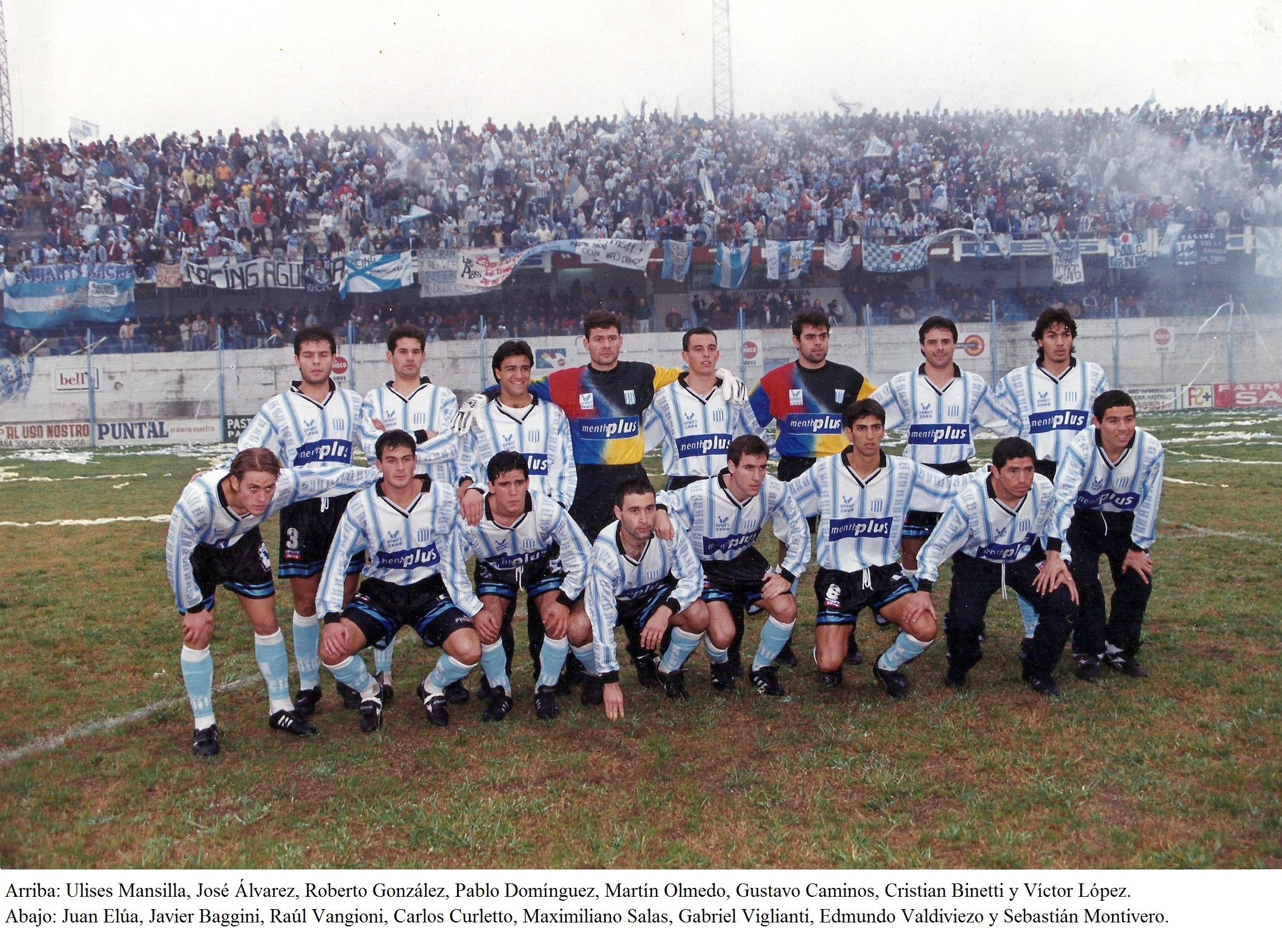 17 – 1999 Vs. Estudiantes de Río Cuarto